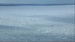 北海道 流氷 Footage