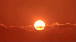 摩周湖から夕焼と霧 Footage