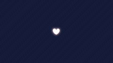The pulsing heart Animation