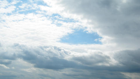 timelapse with clouds moving Stock Video Footage