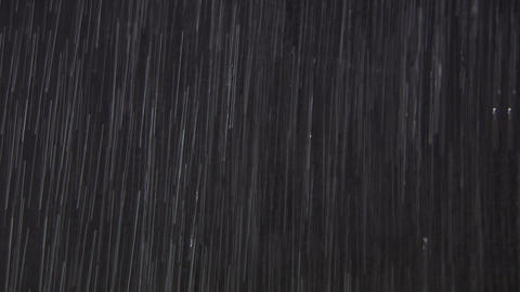Rain isolated II WS MS Stock Video Footage