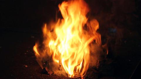 Blacksmith Fire Stock Video Footage