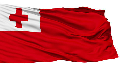 Waving national flag of Tonga Stock Video Footage
