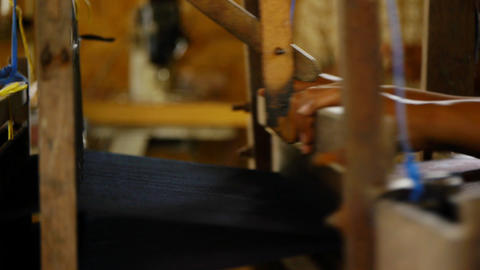 Fabric production Stock Video Footage