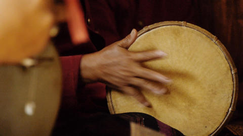 Indonesian musicians 9 Stock Video Footage