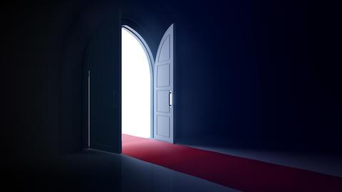 Door Opening CD L1 Fix HD Stock Video Footage