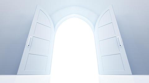 Door Opening CW M1 Fix HD Stock Video Footage
