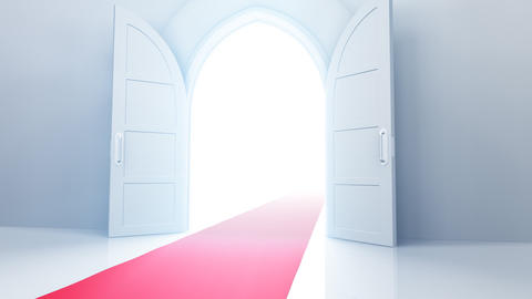 Door Opening CW R1 In HD Stock Video Footage