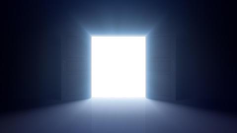 Door Opening DD F1 In HD Stock Video Footage