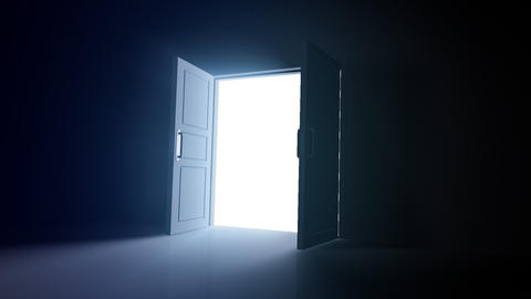 Door Opening DD R1 In HD Stock Video Footage