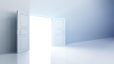 Door Opening DW L1 Fix HD Stock Video Footage