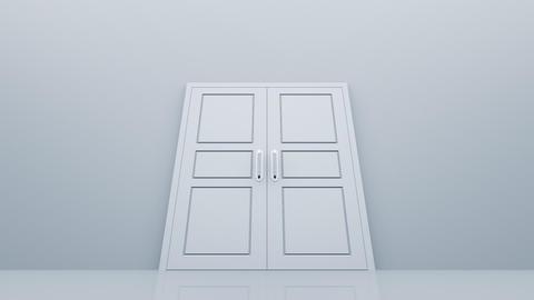 Door Opening DW M1 Fix HD Stock Video Footage