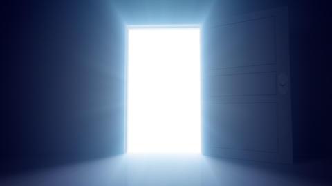 Door Opening SD R1 In HD Stock Video Footage