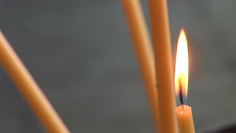 candle 4 Stock Video Footage