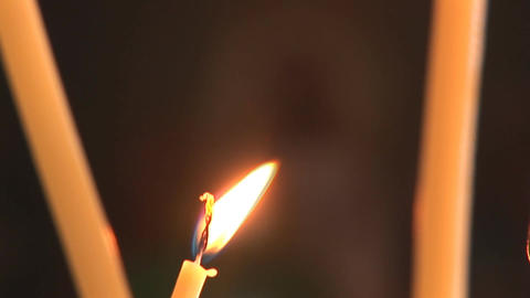 candle 6 Stock Video Footage
