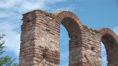 nessebar church 10 Stock Video Footage