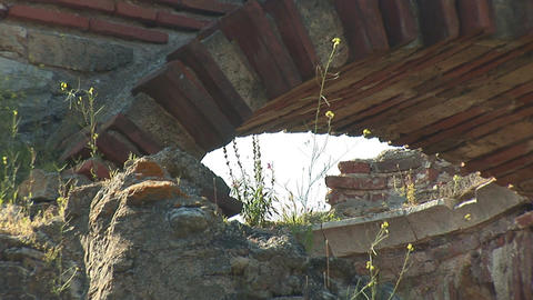 nessebar church 18 Stock Video Footage
