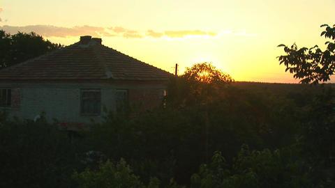 sunset rural 1 Footage