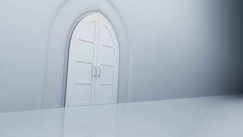 Door Opening CW L1 In2 HD Stock Video Footage