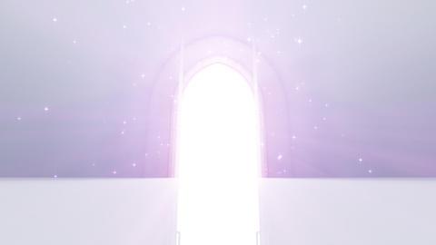 Door Opening CW M1 In2 HD Stock Video Footage