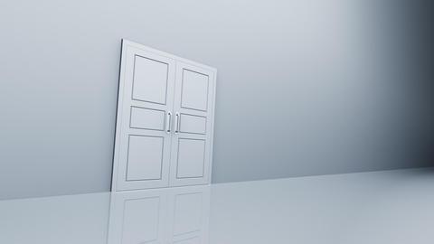 Door Opening DW L1 In2 HD Stock Video Footage