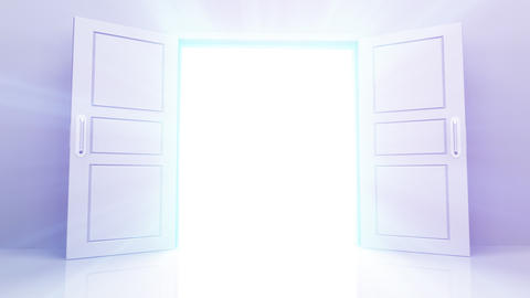 Door Opening DW L1 In2 HD Animation