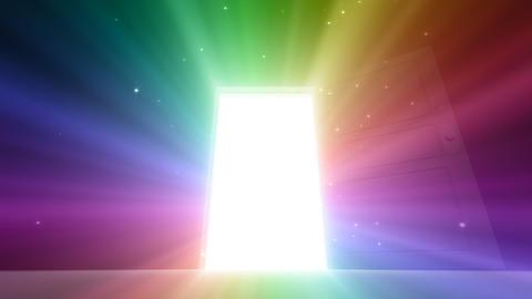 Door Opening SD M1 Fix2 HD Stock Video Footage