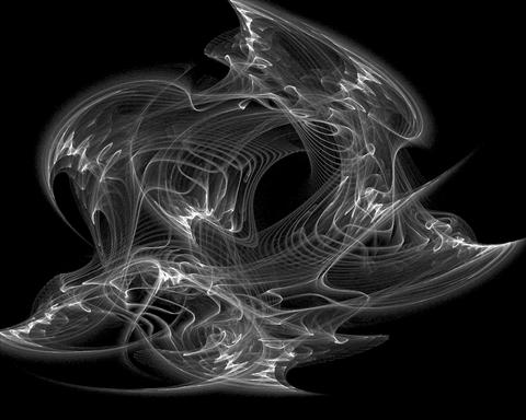 Abstract evil smoke Stock Video Footage