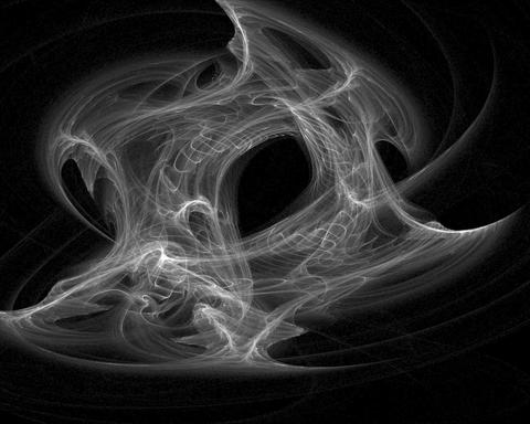 Abstract evil smoke Animation