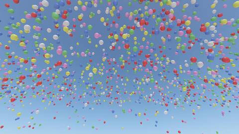 Door Opening Balloon CD M1 In3 HD Stock Video Footage
