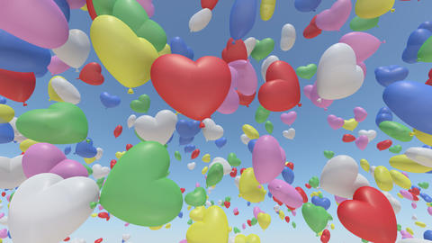 Door Opening balloon L1 In3 HD Animation