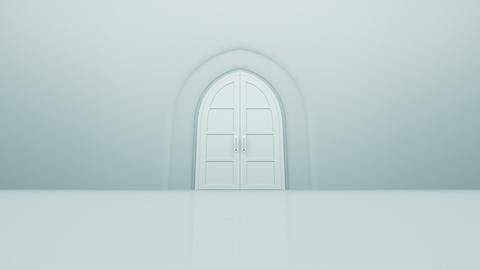 Door Opening Floor CW M1 In3b HD Stock Video Footage