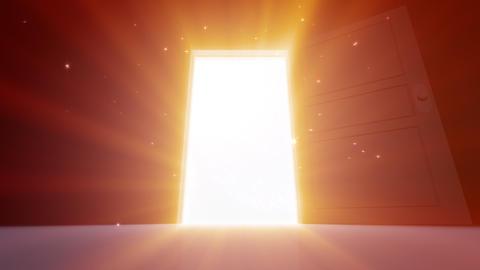 Door Opening Hanabi SD M1 In3 HD Stock Video Footage