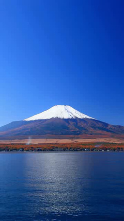 Mount Fuji and Lake Yamanaka Footage