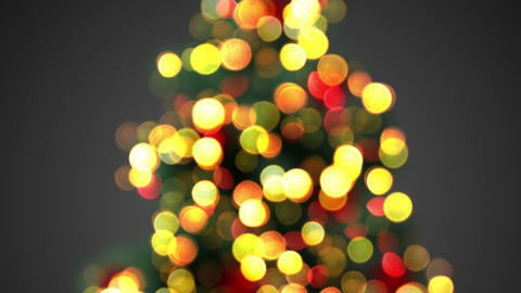 defocused christmas tree lights seamless loop Animation