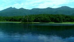 知床五湖と知床連峰 Footage