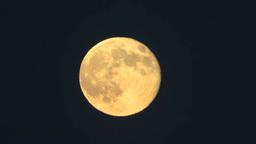 昇る満月 Footage