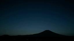 富士山と朝日 Footage