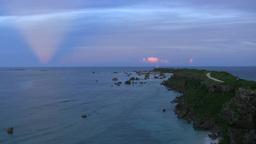 Higashihennazaki sunset Footage