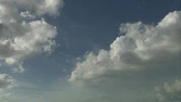 キュラソーの空に流れる雲 Footage