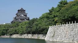 Hiroshima Castle Footage