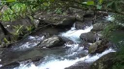 River flow in Urai, Taiwan Footage