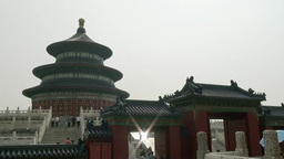 Temple of Heaven, Beijing, China Footage