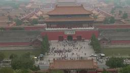 Forbidden City in Beijing, China Footage