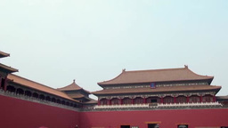 Forbidden City in Beijing, China ภาพวิดีโอ