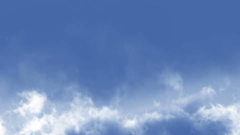 Cloudscape. Loop Stock Video Footage