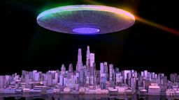 マザーシップ UFO Stock Video Footage