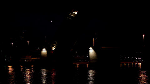 drawbridge Stock Video Footage