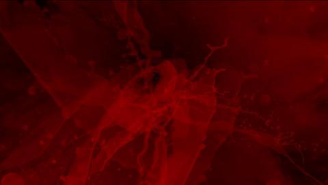 splash blood & red dyestuff ink Stock Video Footage