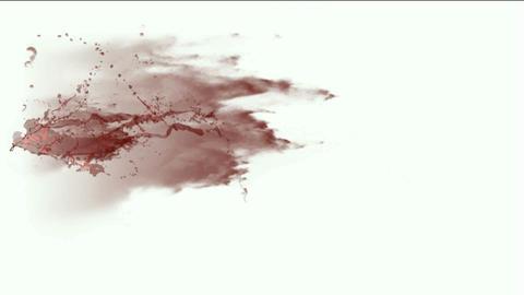 blood & plasma,splash red fluid,liquid & ink Stock Video Footage